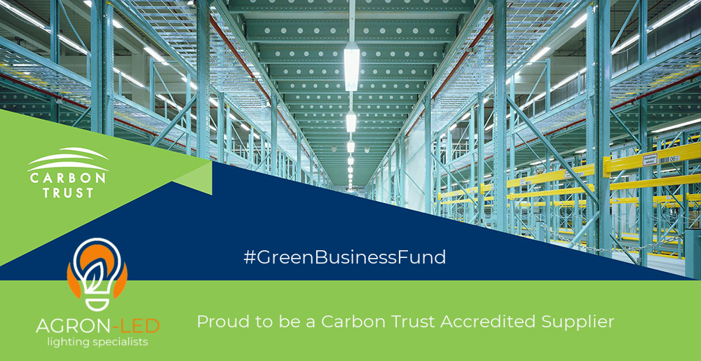 Agron-LED selected as Carbon Trust Accredited Supplier
