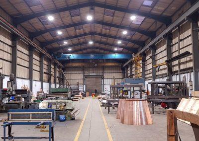 Argon-LED McMillan Fabricators project 1